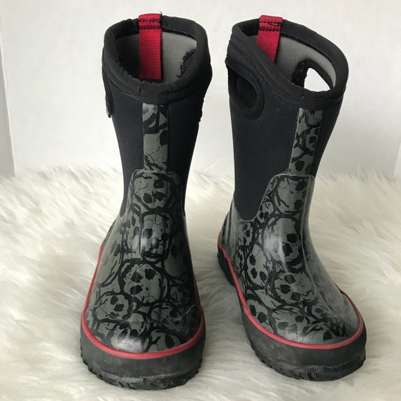 c8bd0b61a Bogs Shoes | Toddler Skulls Classic High Boots Size 9 | Poshmark
